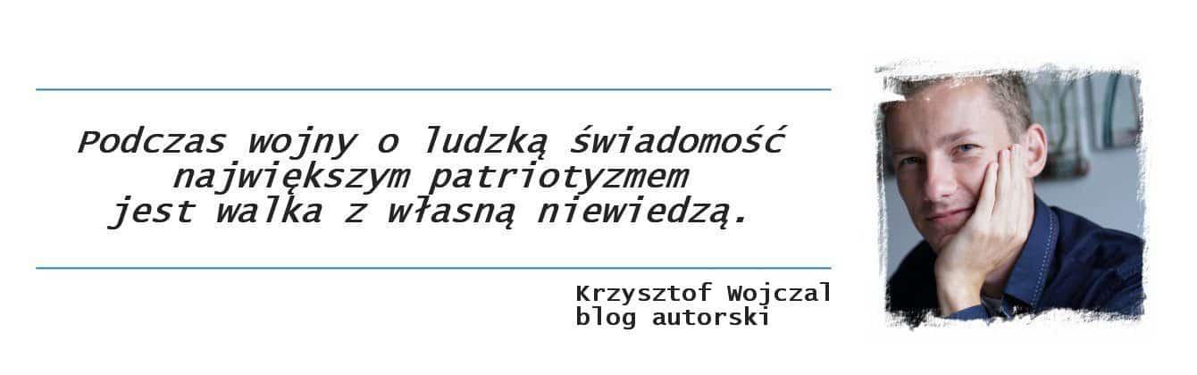 Krzysztof Wojczal blog autorski